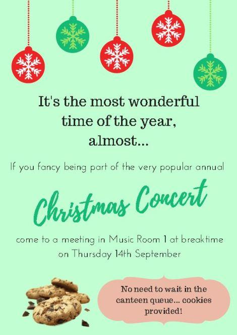Christmas Concert Meeting